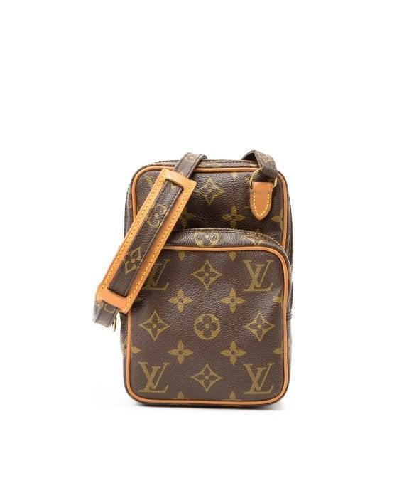 Lyst - Louis Vuitton Mini Amazon Shoulder Bag in Brown