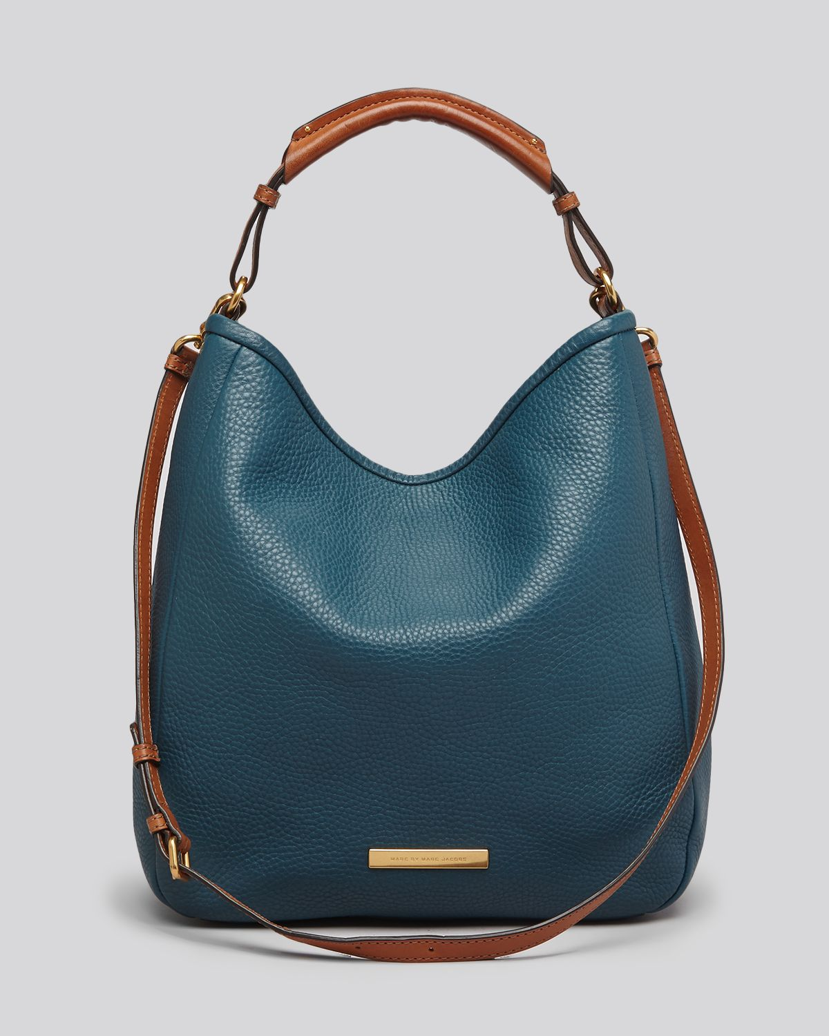 Marc By Marc Jacobs Hobo Softy Saddle Large In Blue Lyst