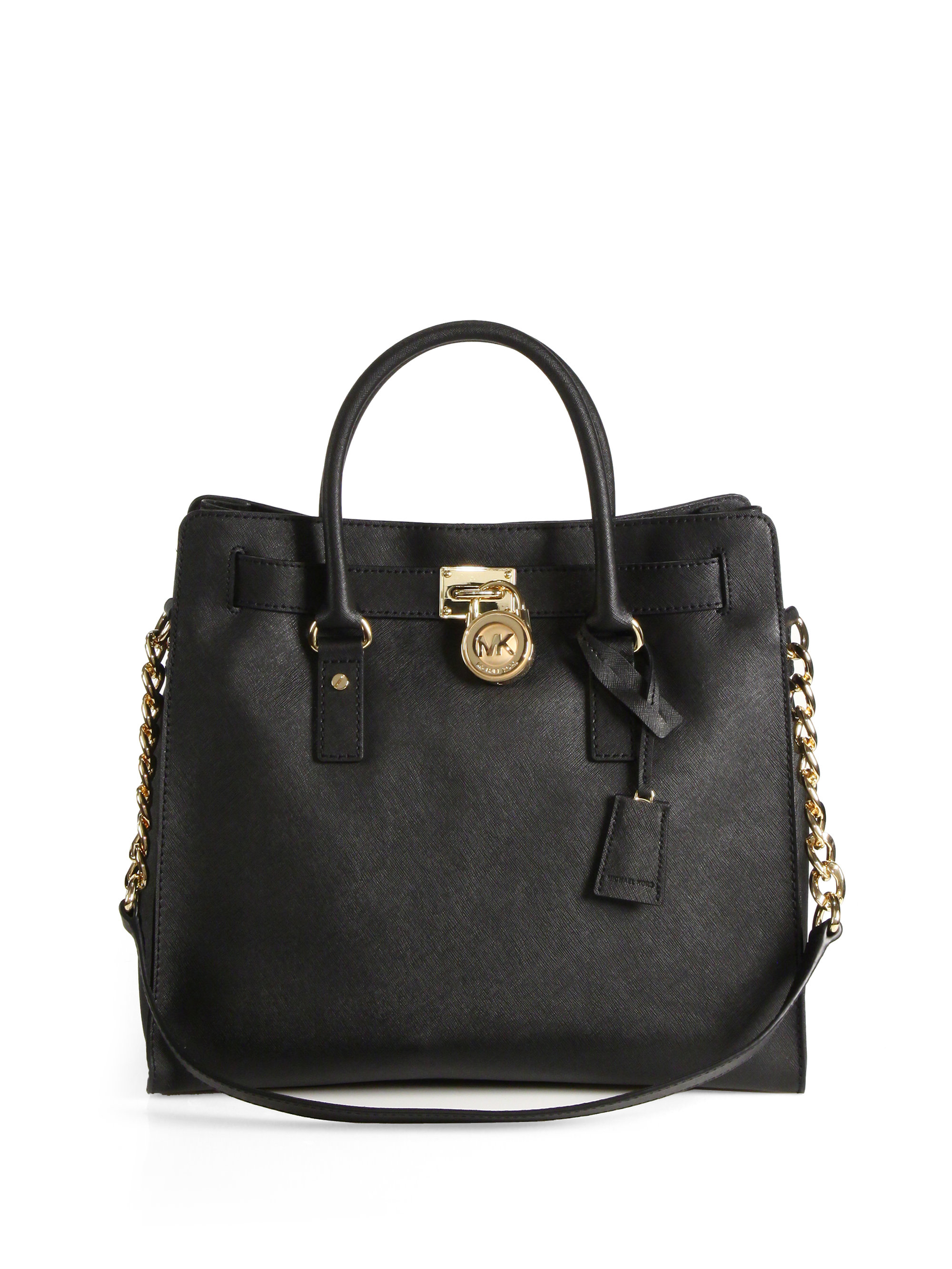Michael By Michael Kors Hamilton Large Tote in Black