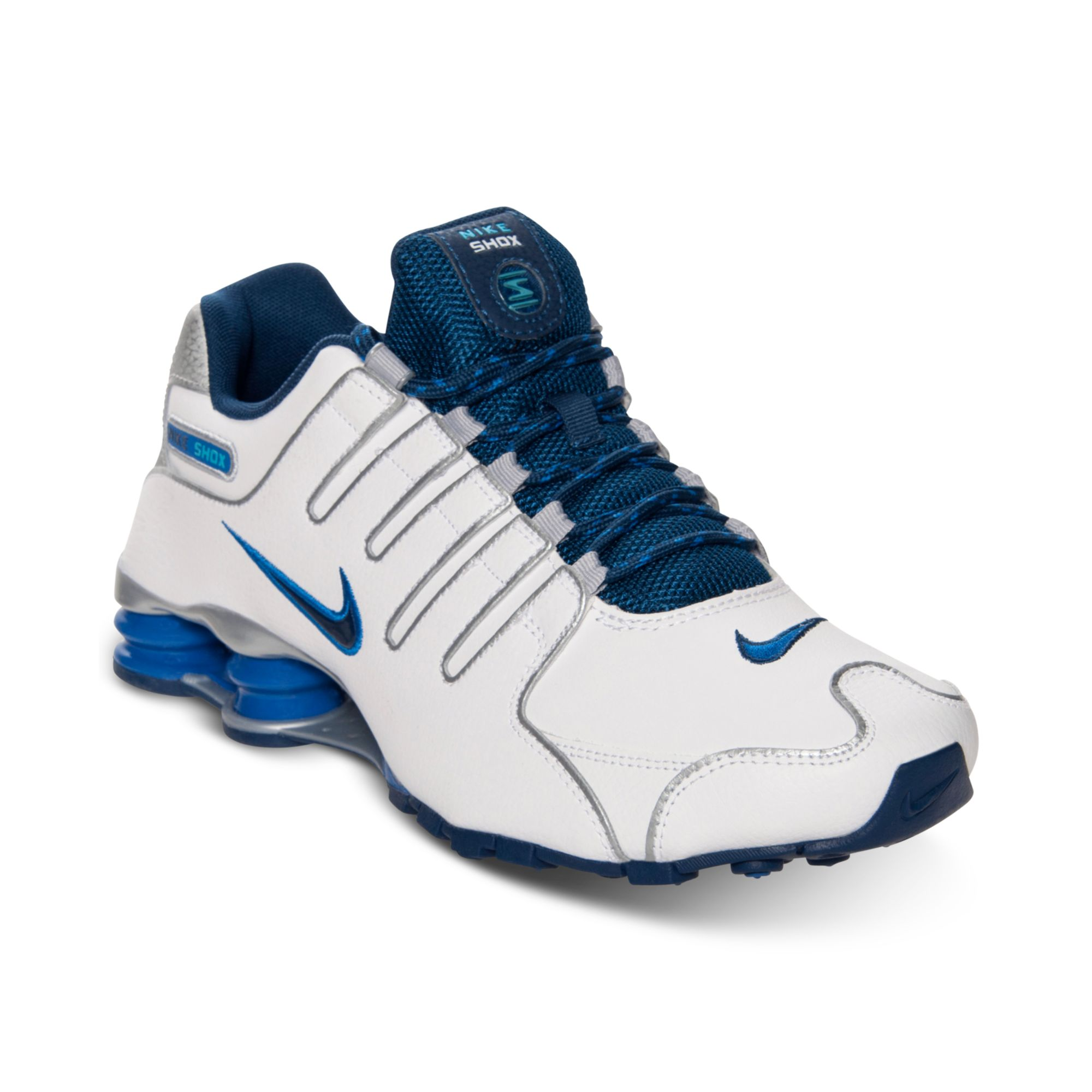 newest 7ce92 e1101 ... new zealand lyst nike mens shox nz eu running sneakers from finish line  in ecd15 0371b