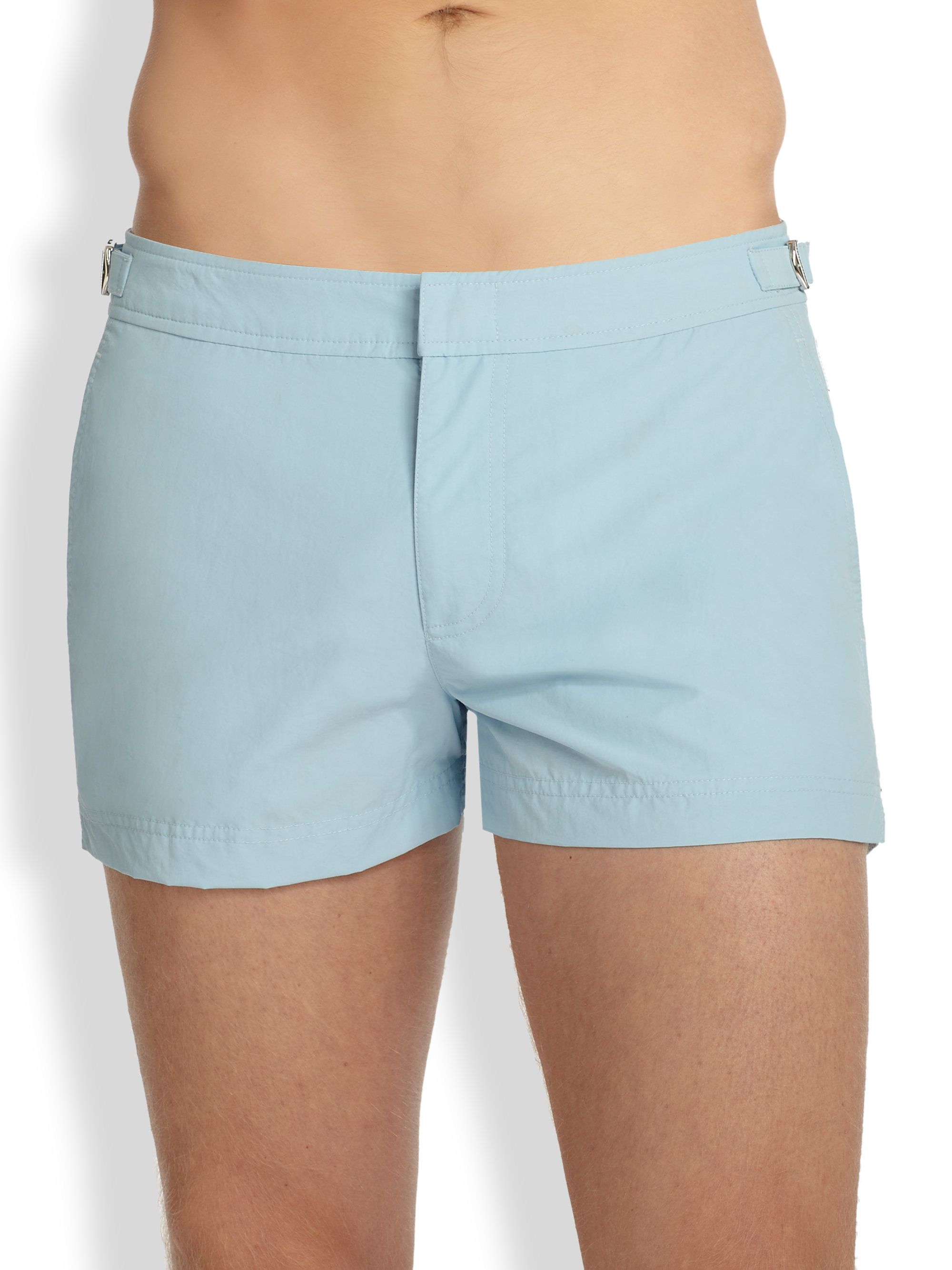 26803c3a6e Orlebar Brown Setter Solid Swim Shorts in Blue for Men - Lyst