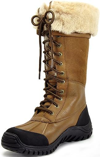 Ugg Caramel Adirondack Tall Boots In Khaki Chestnut Lyst