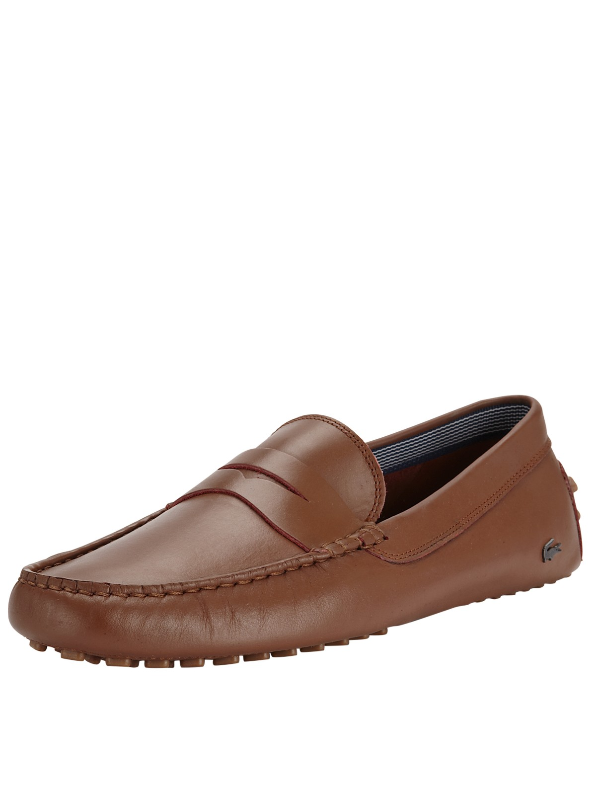 Mens Lacoste Brown Keelson Shoes