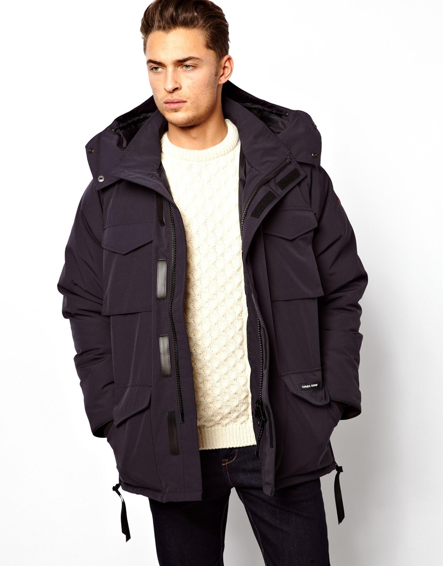 Lyst Canada Goose Constable Parka In Blue For Men