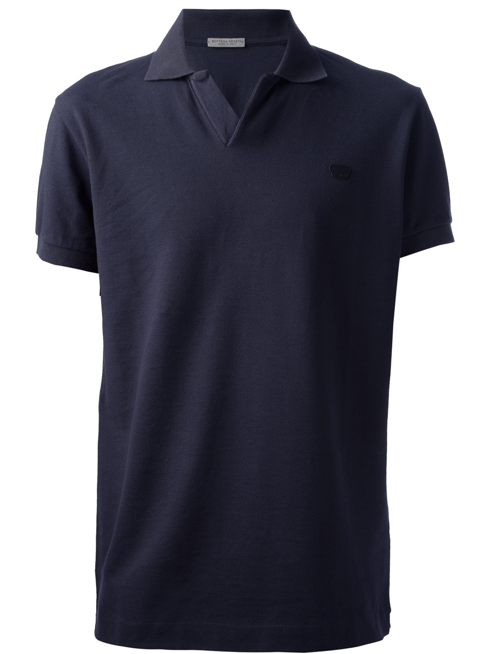 Lyst bottega veneta classic polo shirt in blue for men for Bottega veneta t shirt