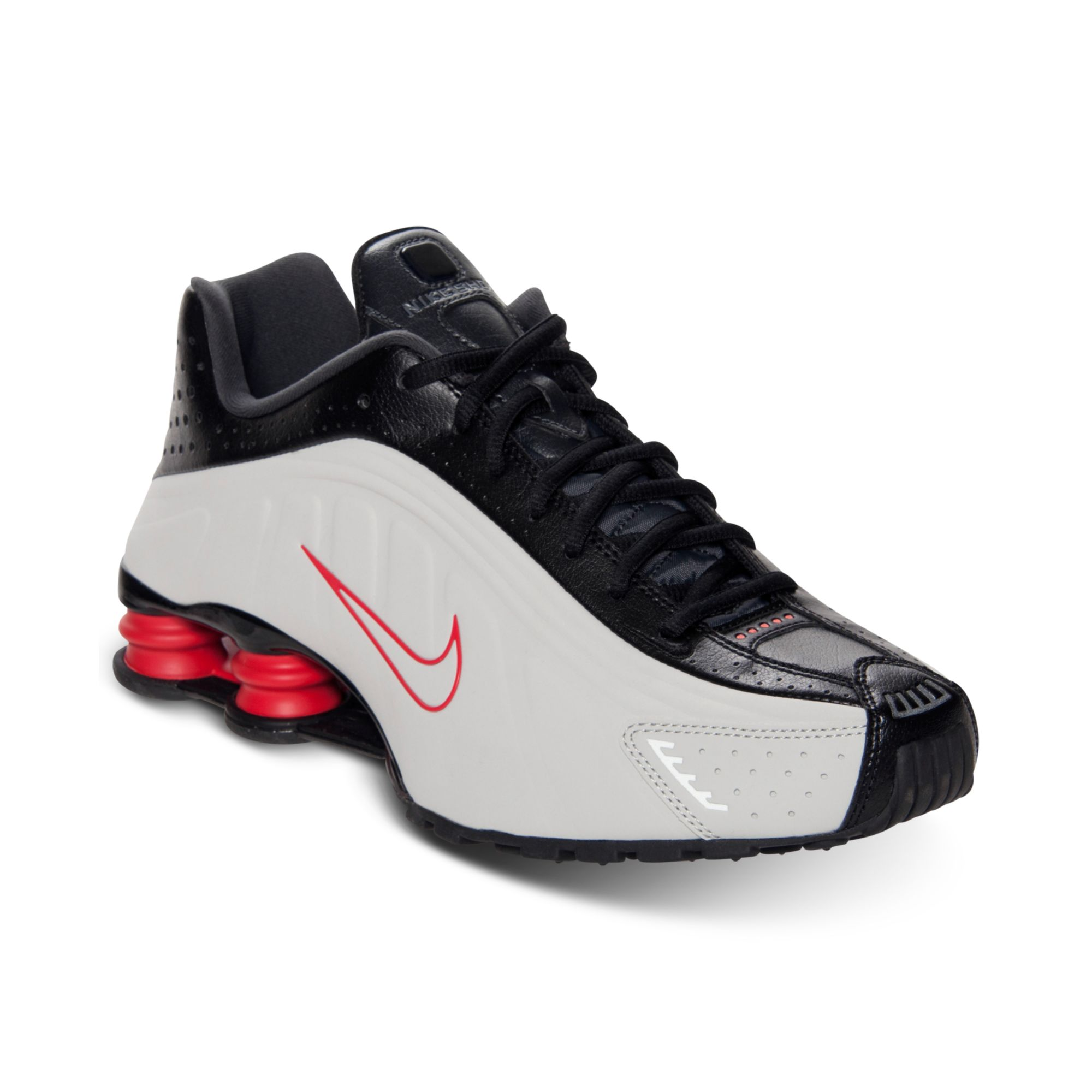 Mens Black Shox Running For Shoes Line From In Lyst Nike Men R4 Finish LqSpUzGMV