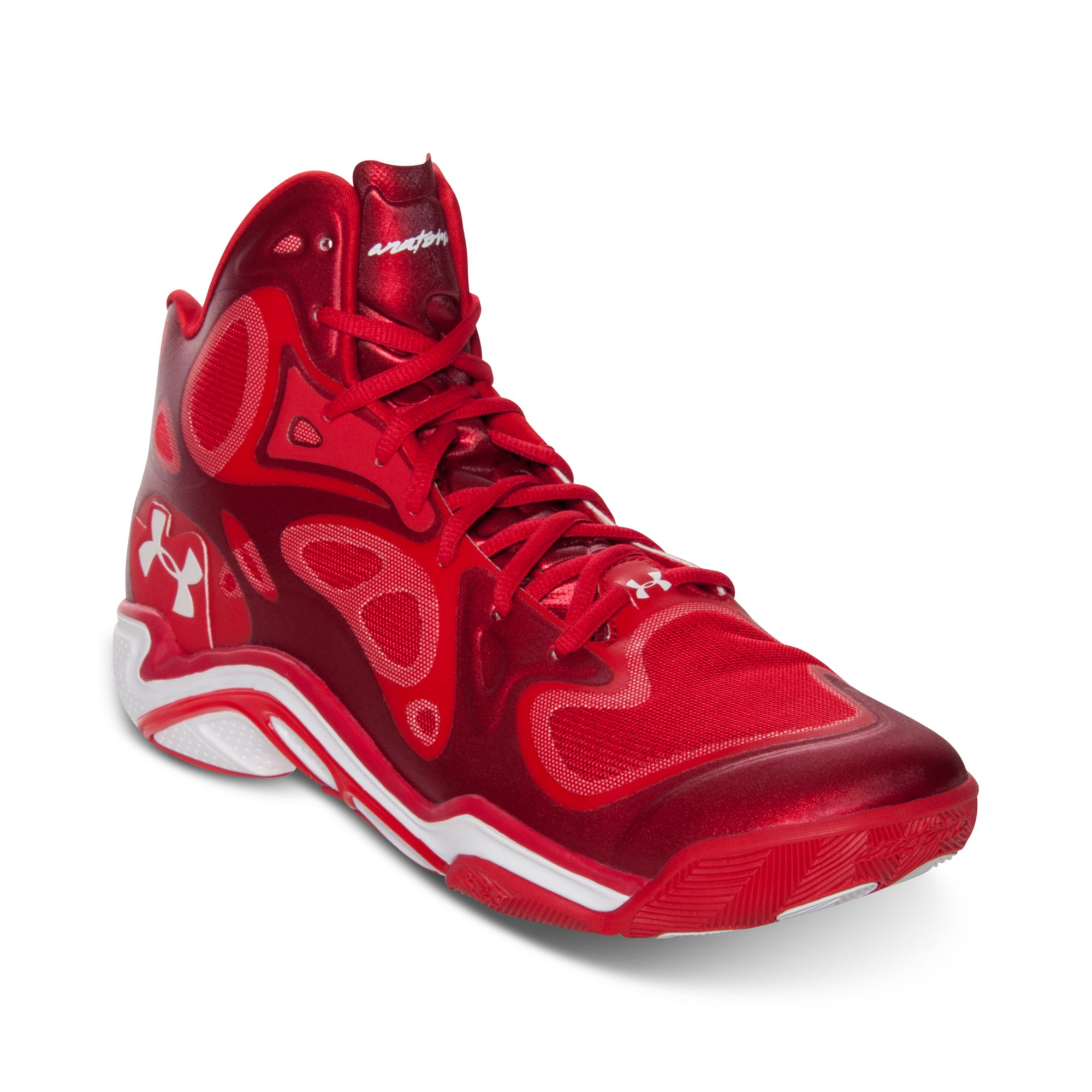ca4bcd7dd1e ... Lyst - Under Armour Mens Micro G Anatomix Spawn Basketball S low priced  049b5 6f0f5  Under armour curry 2 black white ...