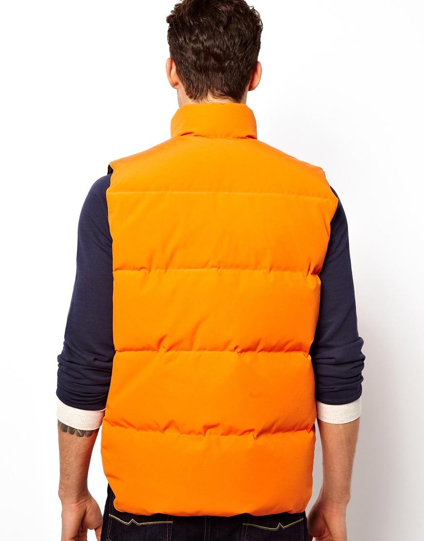 canada goose gilet orange