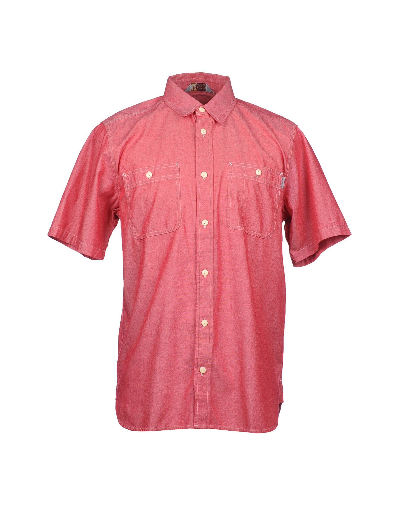 Carhartt Short Sleeve Shirt In Red For Men Lyst