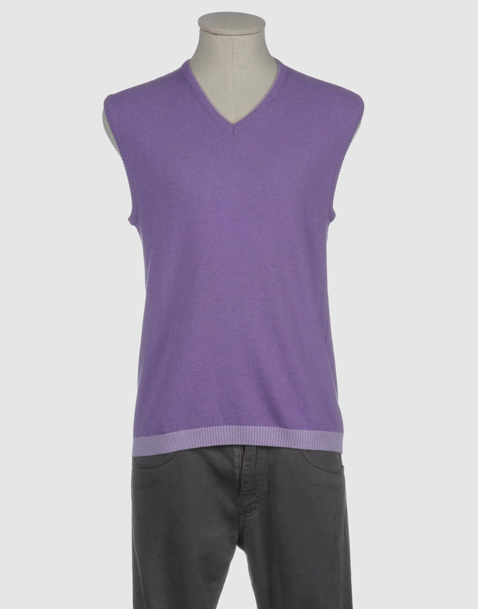 Purple Sweater For Men 88