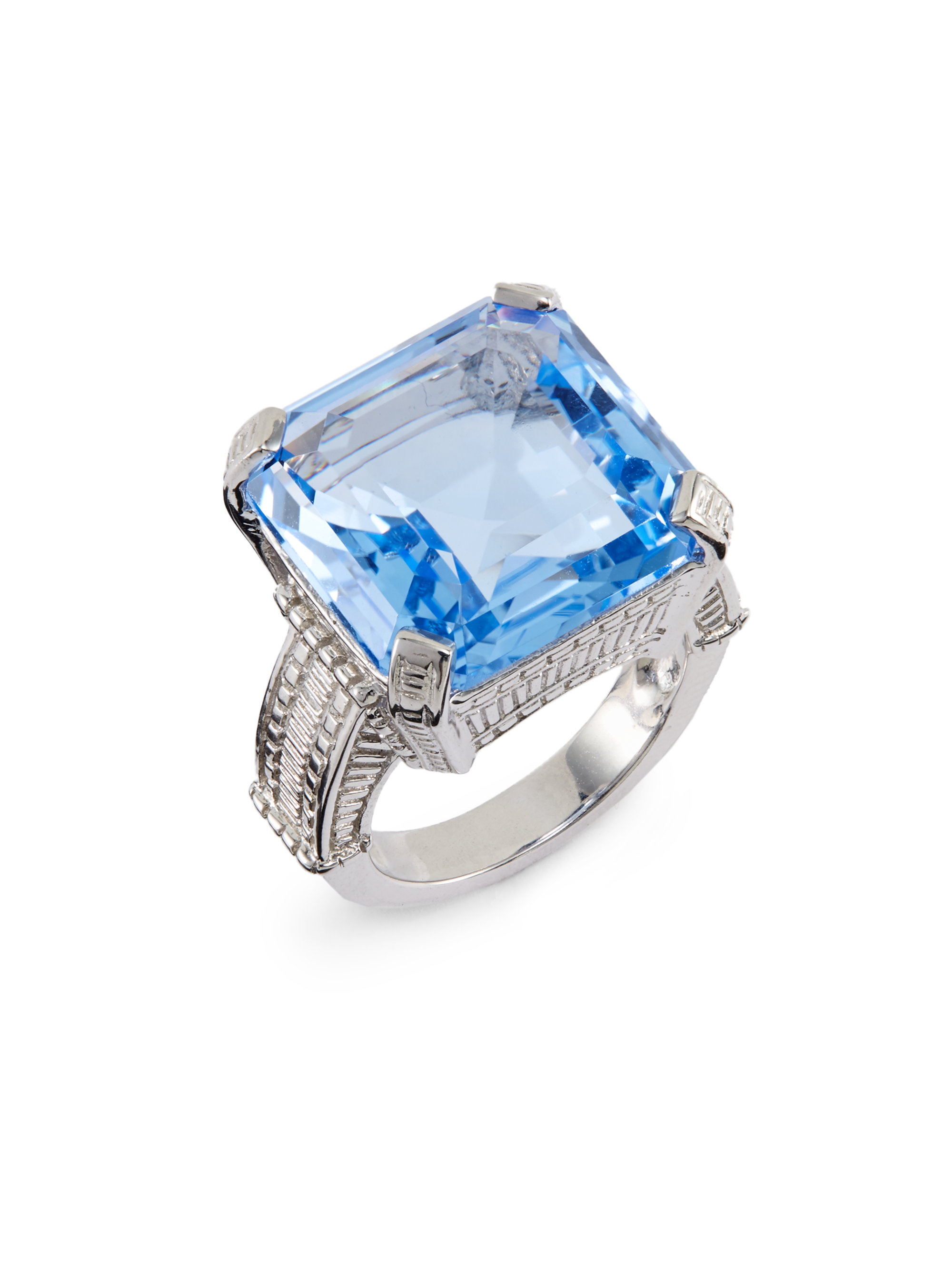 rings stone jewellery category blue jones product colour cluster number ring sapphire ernest l gold white created webstore