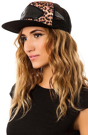 Lyst - Vans The Beach Girl Trucker Hat in Black e48ef440782