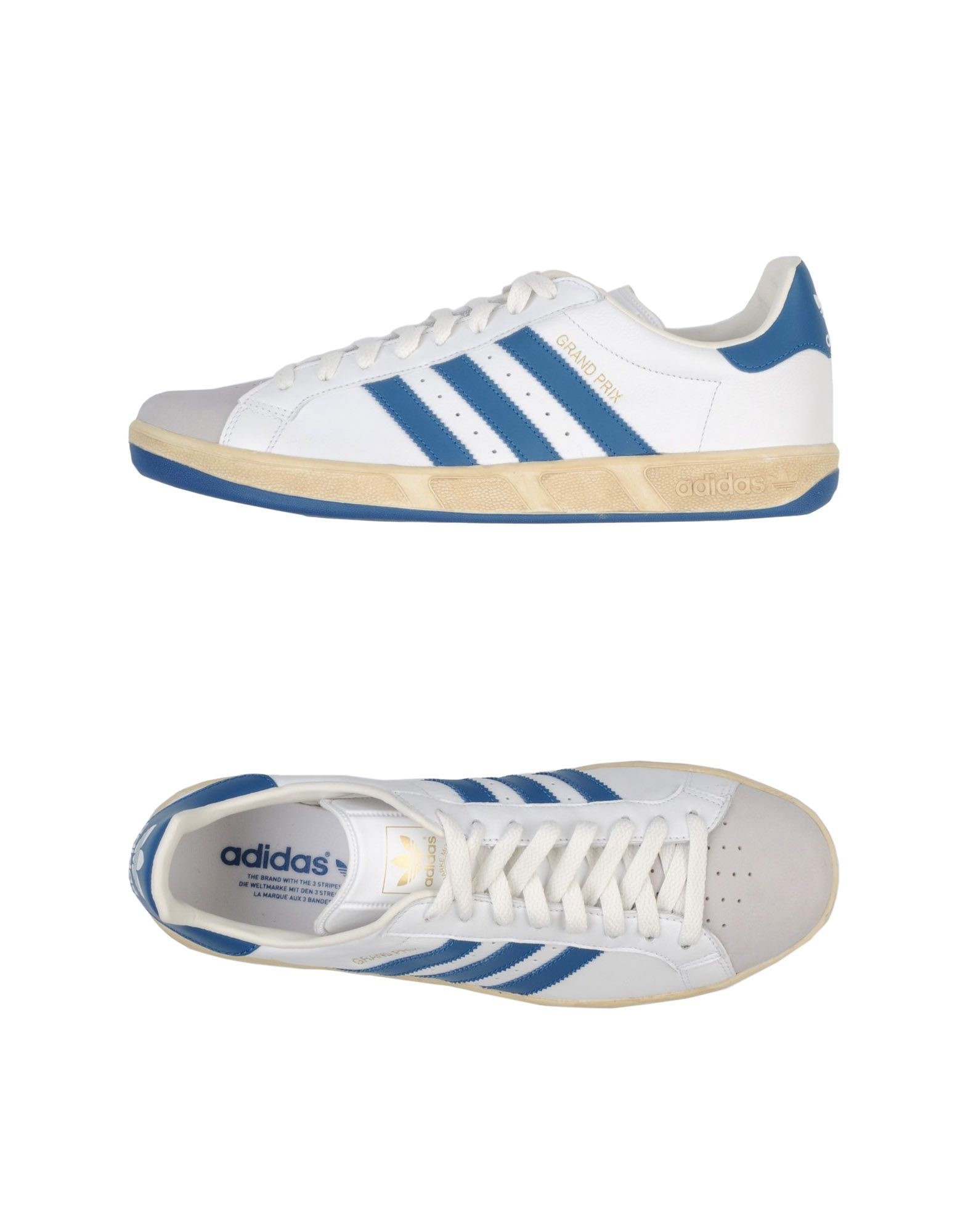 adidas low top sneakers in white for lyst