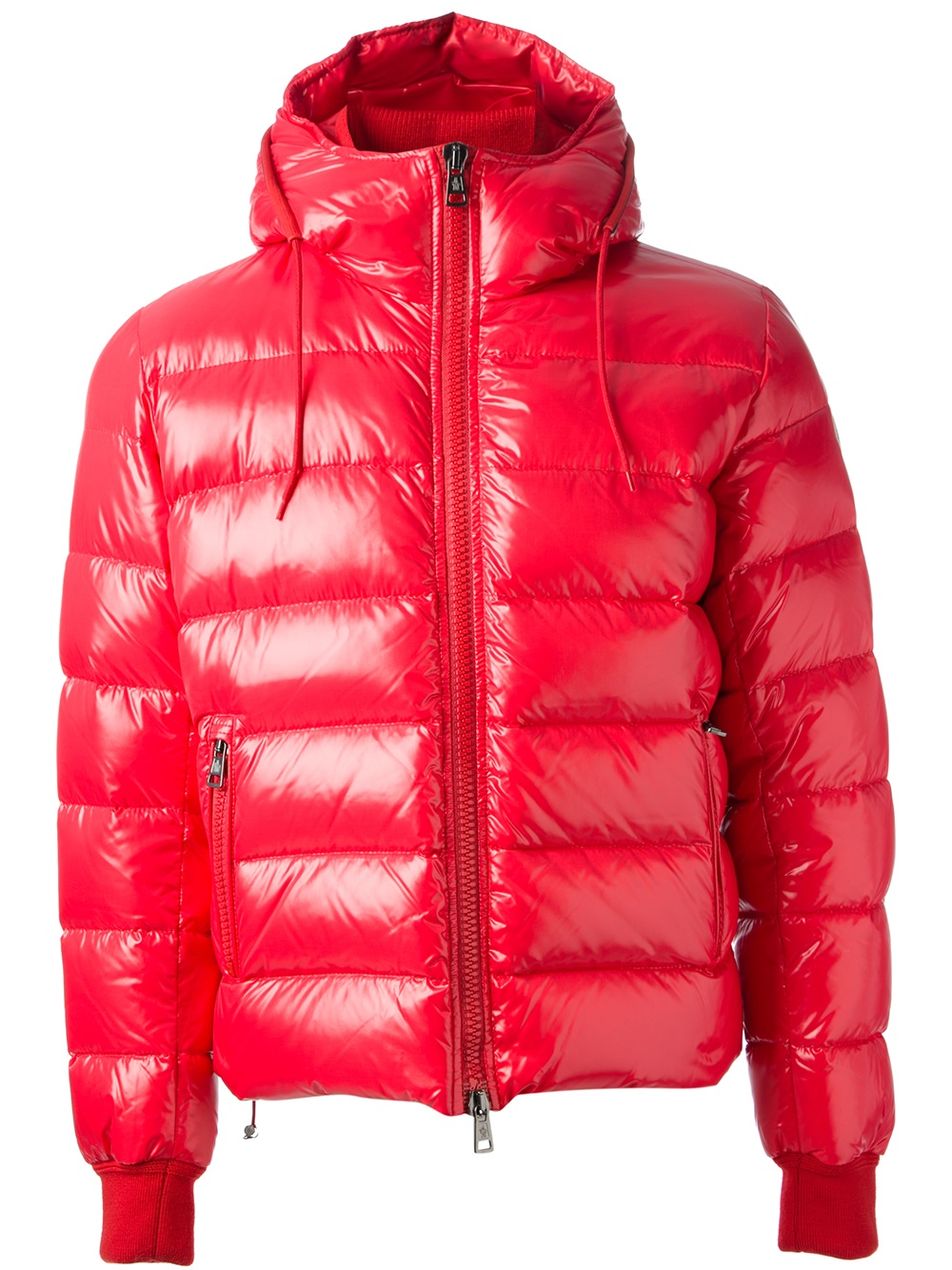 0ccb287c8efc Moncler  maya  Padded Jacket in Red for Men - Lyst