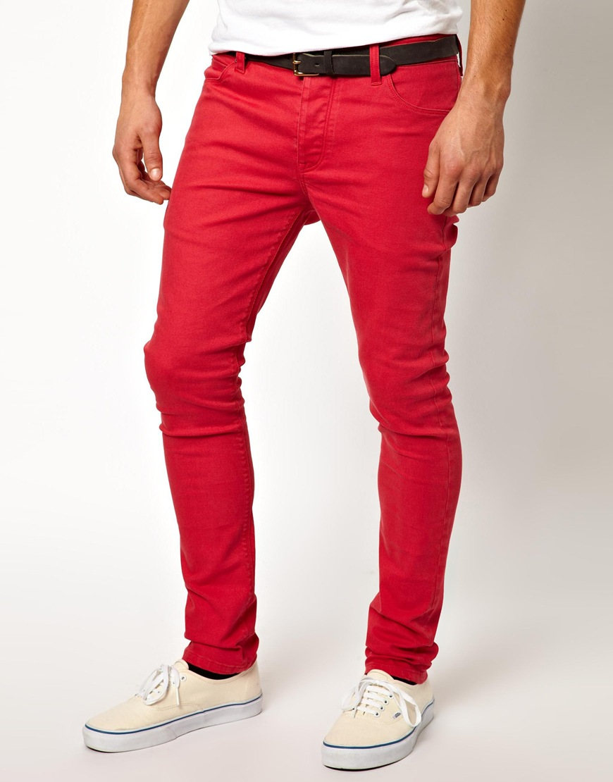 Find great deals on eBay for mens red skinny jeans. Shop with confidence.