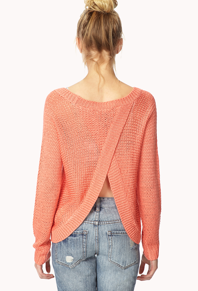 Find open back sweater at ShopStyle. Shop the latest collection of open back sweater from the most popular stores - all in one place. Split Back Women's Sweaters Forever 21 Open Front Women's Sweaters Top brands For open back sweater Theory open back sweater.