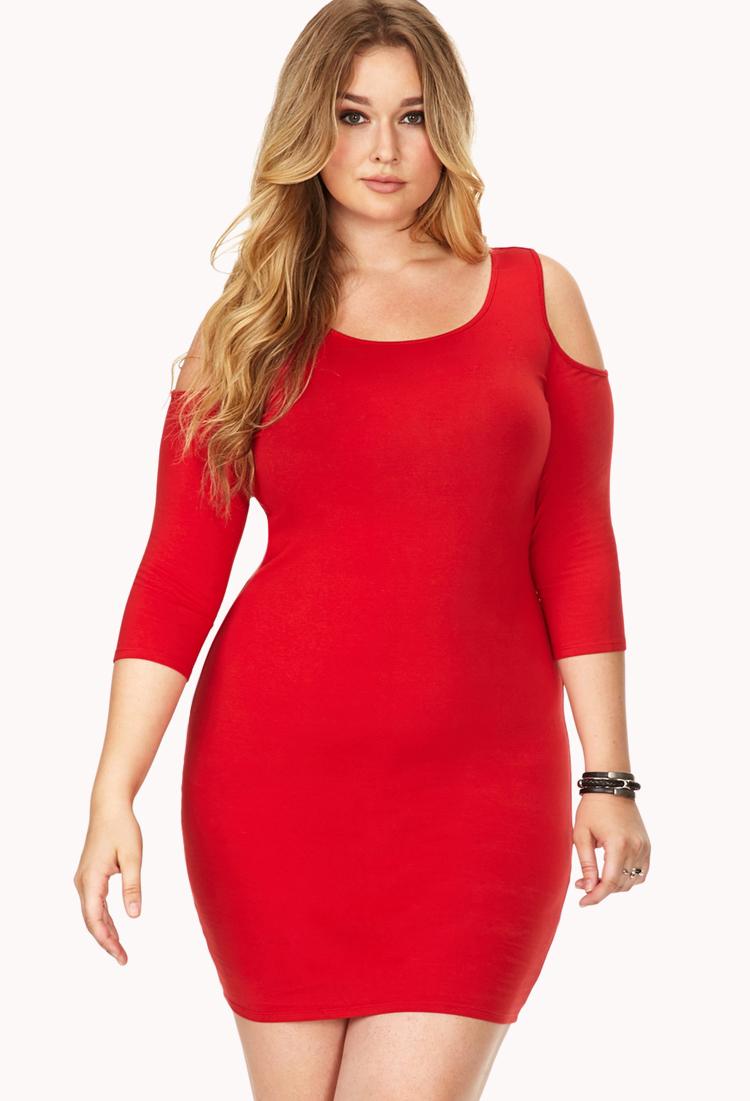 Plus bodycon dress