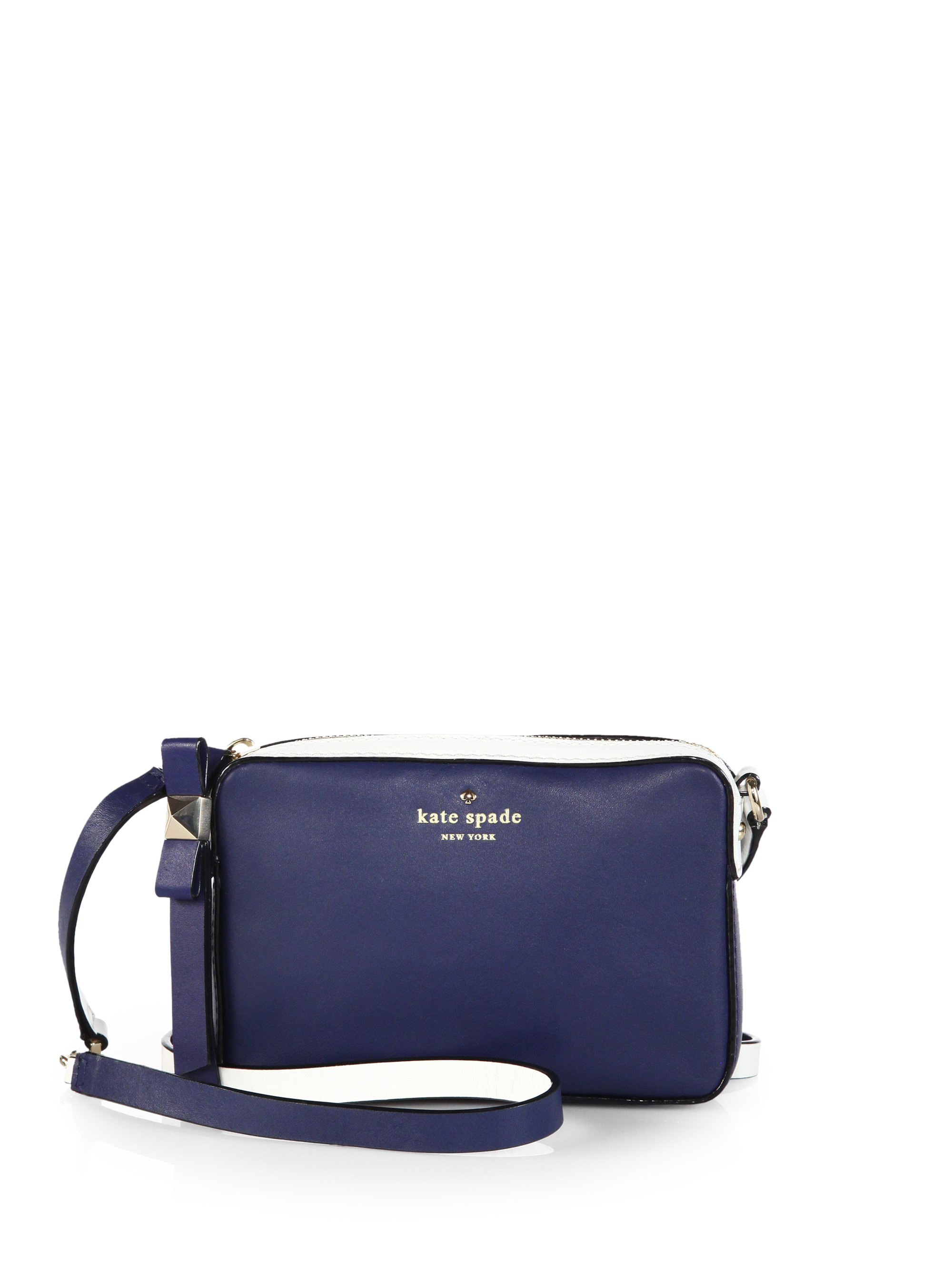 Kate spade new york Highliner Bicolor Crossbody Bag in Blue | Lyst