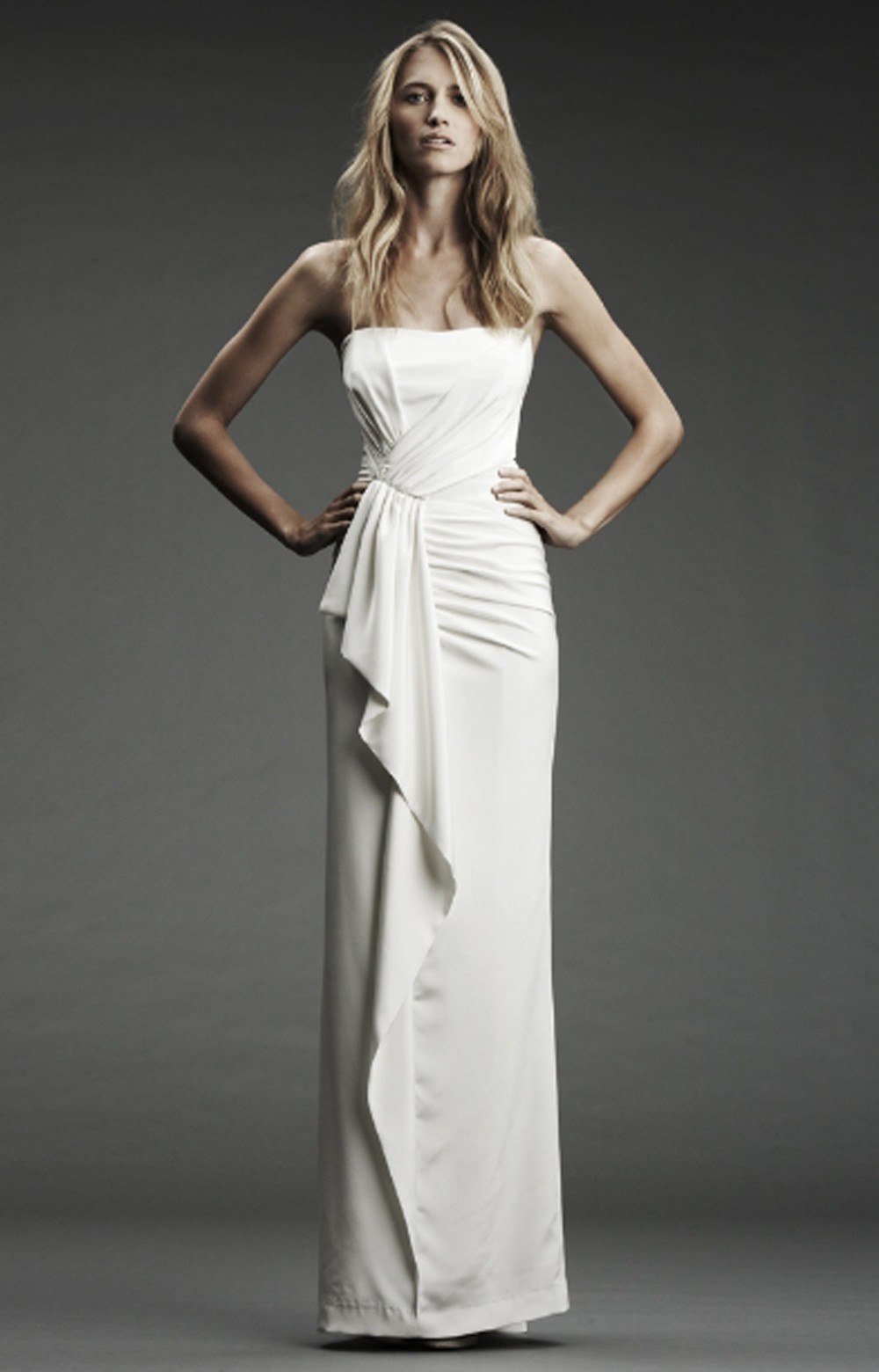 Nicole Miller Maddy Bridal Gown In White Antq White Lyst