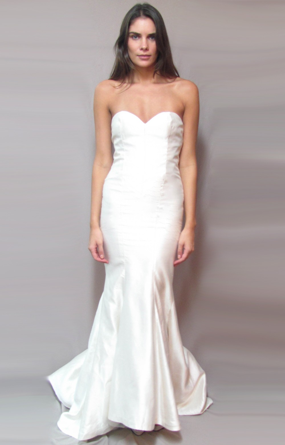 Lyst - Nicole miller Allie Bridal Gown in White