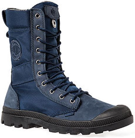 Lastest Mono Chrome  Dust Blue Palladium Boots  Superbalistcom
