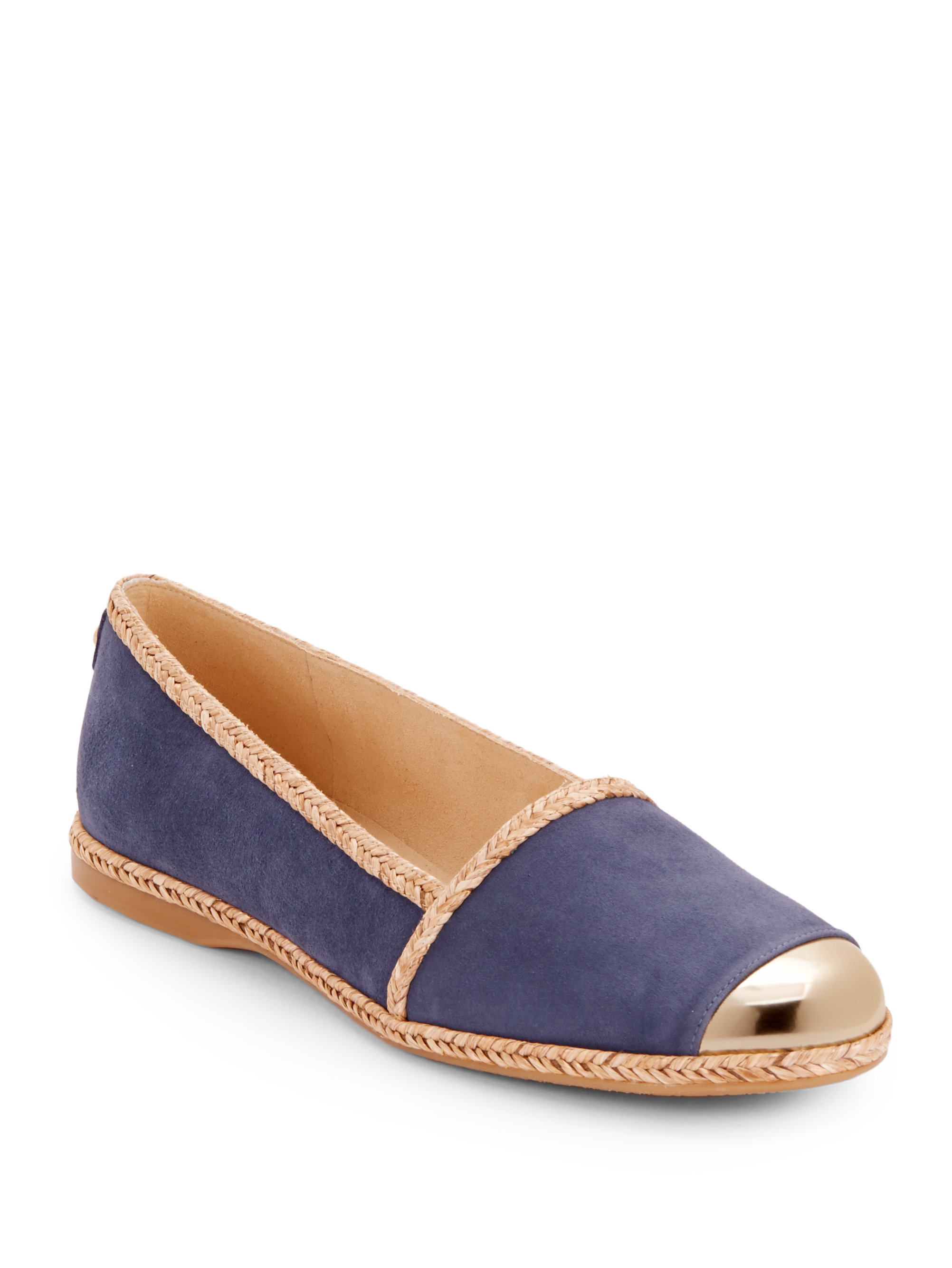 Stuart Weitzman Suede Cap-Toe Espadrilles free shipping shopping online latest collections sale online 7cTdOBCmu