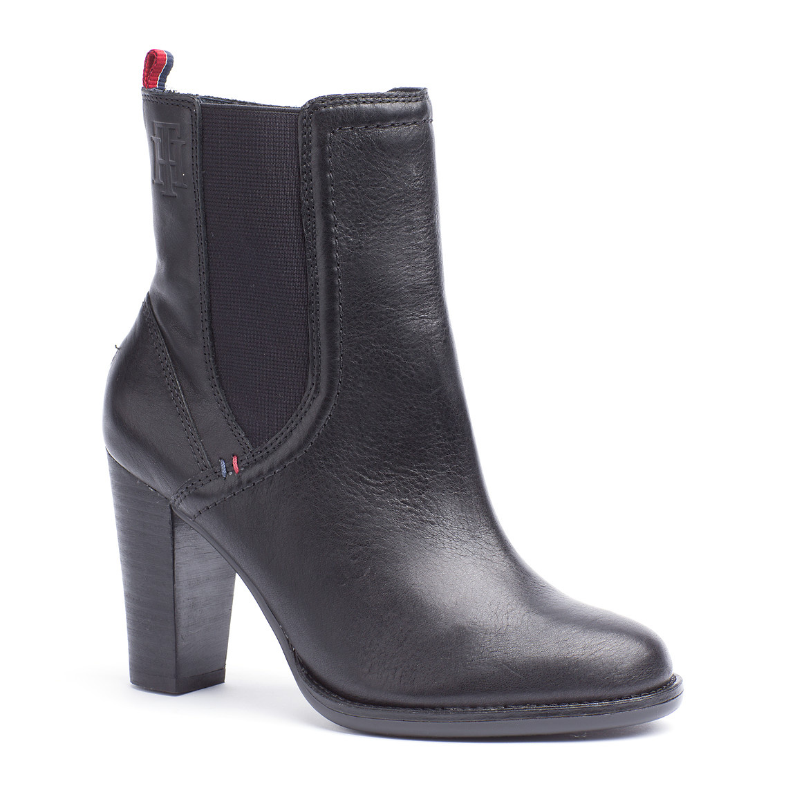 tommy hilfiger kalina ankle boots in black lyst. Black Bedroom Furniture Sets. Home Design Ideas