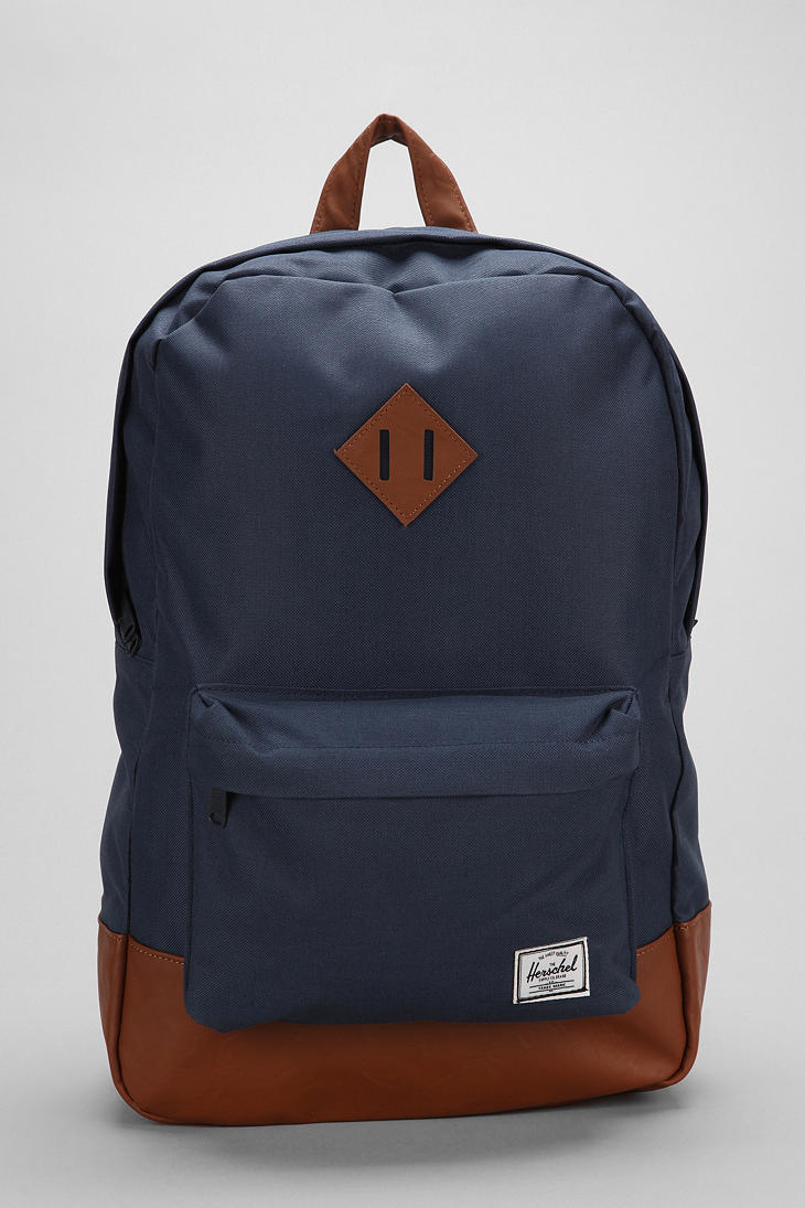 Lyst Urban Outfitters Herschel Heritage Backpack In Blue