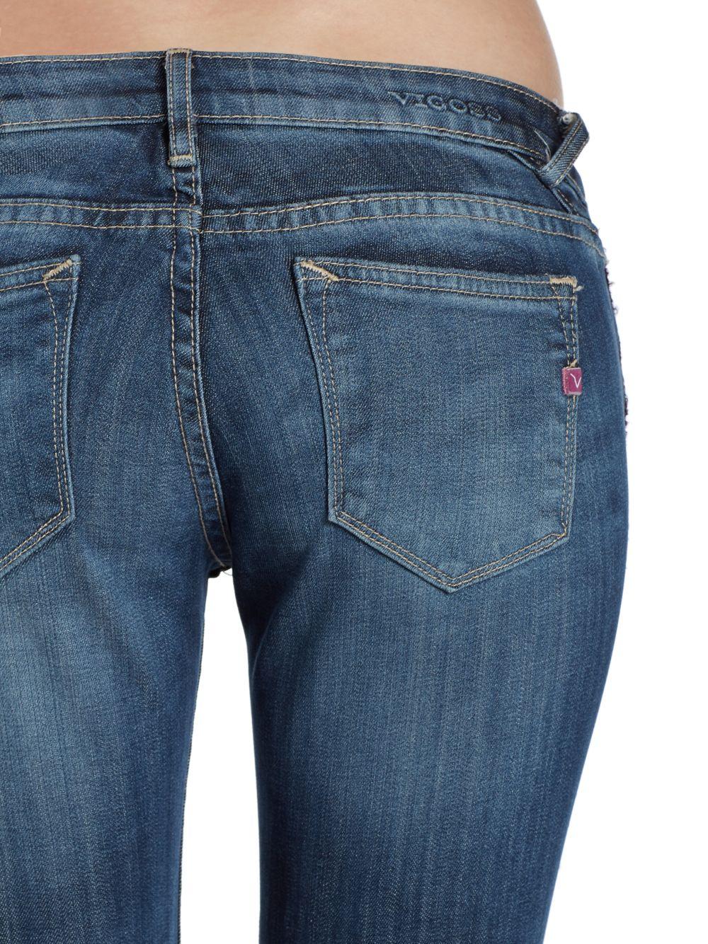 d758f7e074a Lyst - Vigoss Jagger Skinny Jeans in Blue