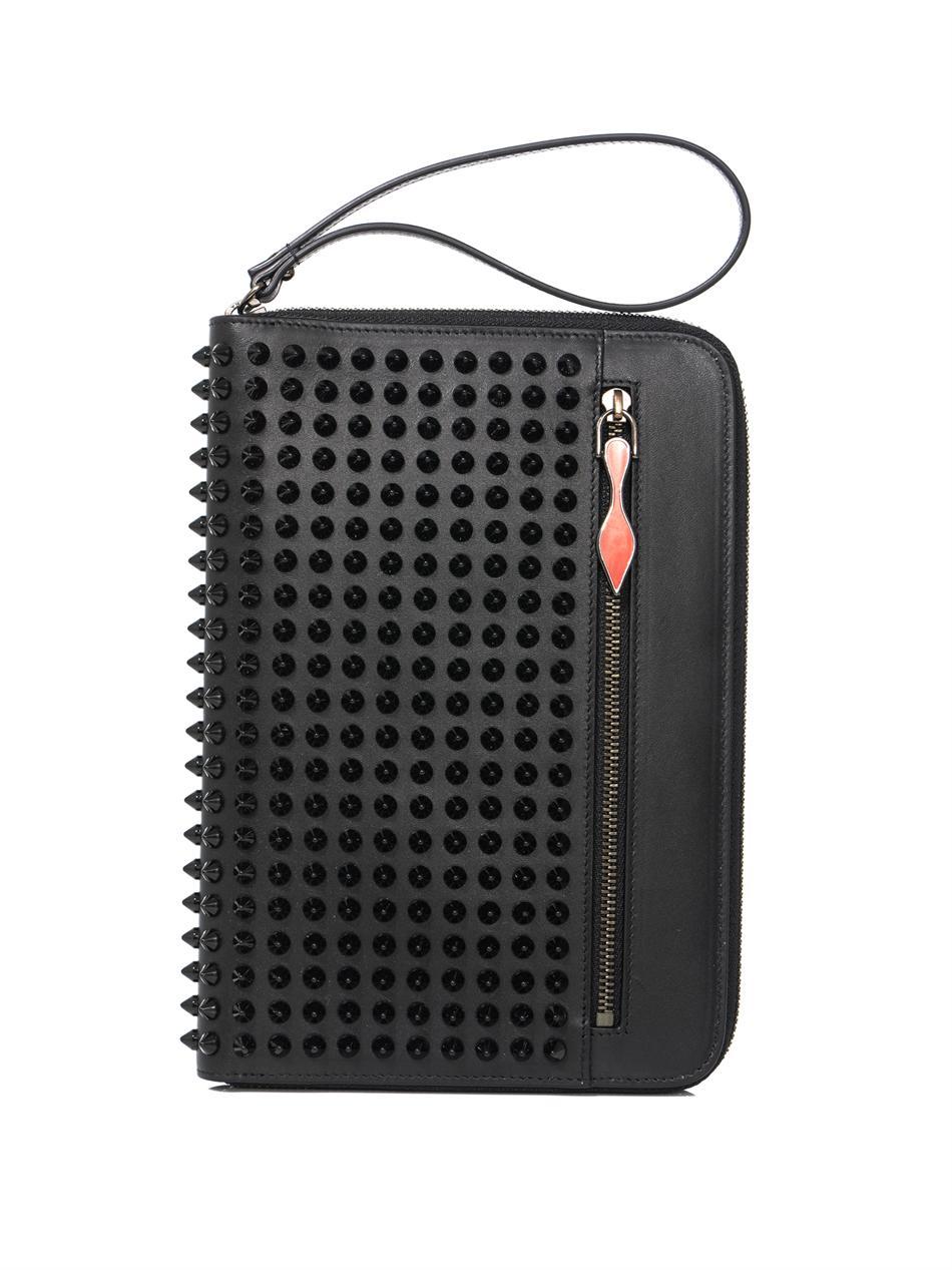 00720c3a20e Christian Louboutin Black Cris Spike Ipad Mini Case