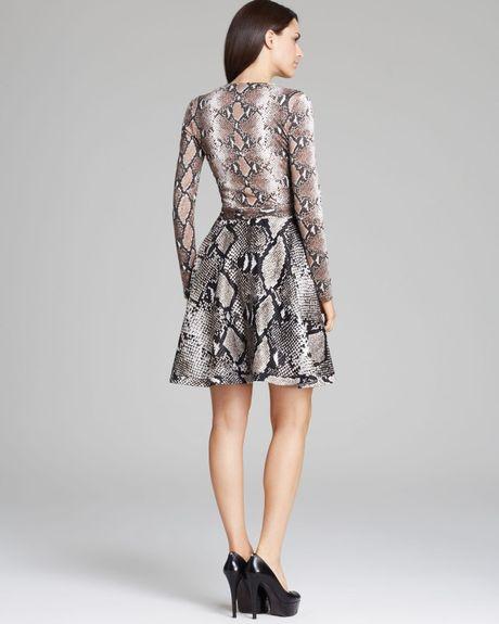 Dvf Amelia Python Print Dress Wrap Dress Amelia Python