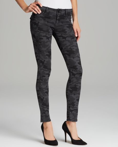 Hudson Jeans Collin Skinny in Vintage Grey Camo in Multicolor (Vintage Grey Camo)