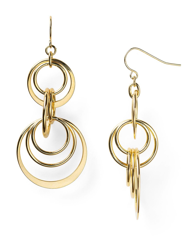 by ralph hill orbital drop earrings in