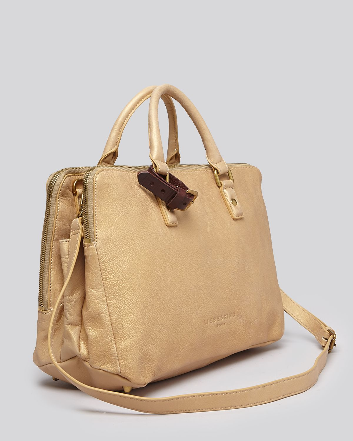 Liebeskind Satchel Koko Small in Gold  Lyst
