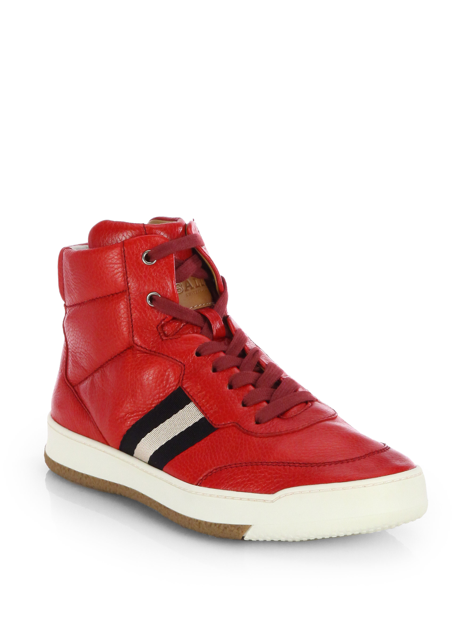 Red Bally Shoes