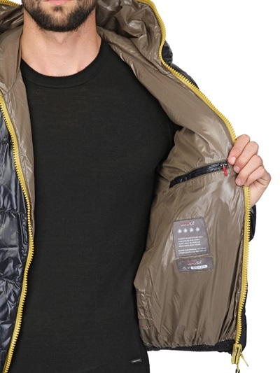 Duvetica Dionisio Shiny Nylon Down Jacket in Navy (Blue) for Men