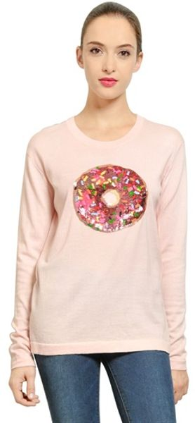 Donut T-shirt in Pink