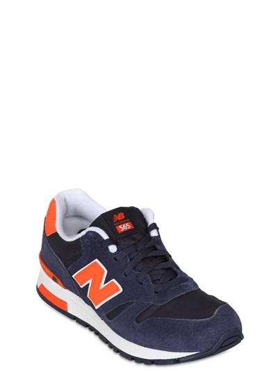 new balance 565 blue orange