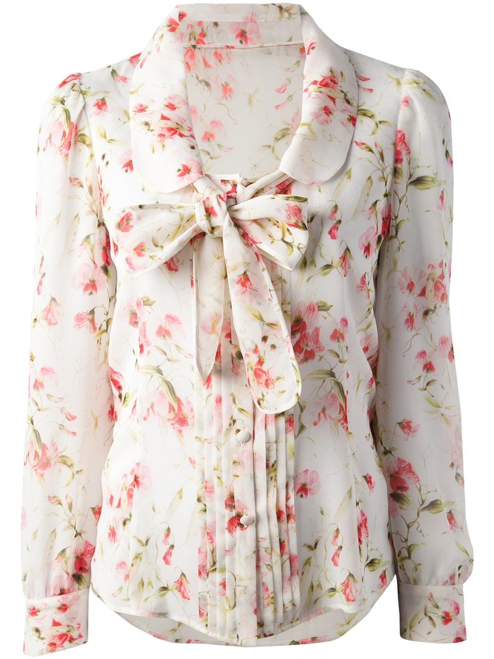Shop floral print blouse at Neiman Marcus, where you will find free shipping on the latest in fashion from top designers.