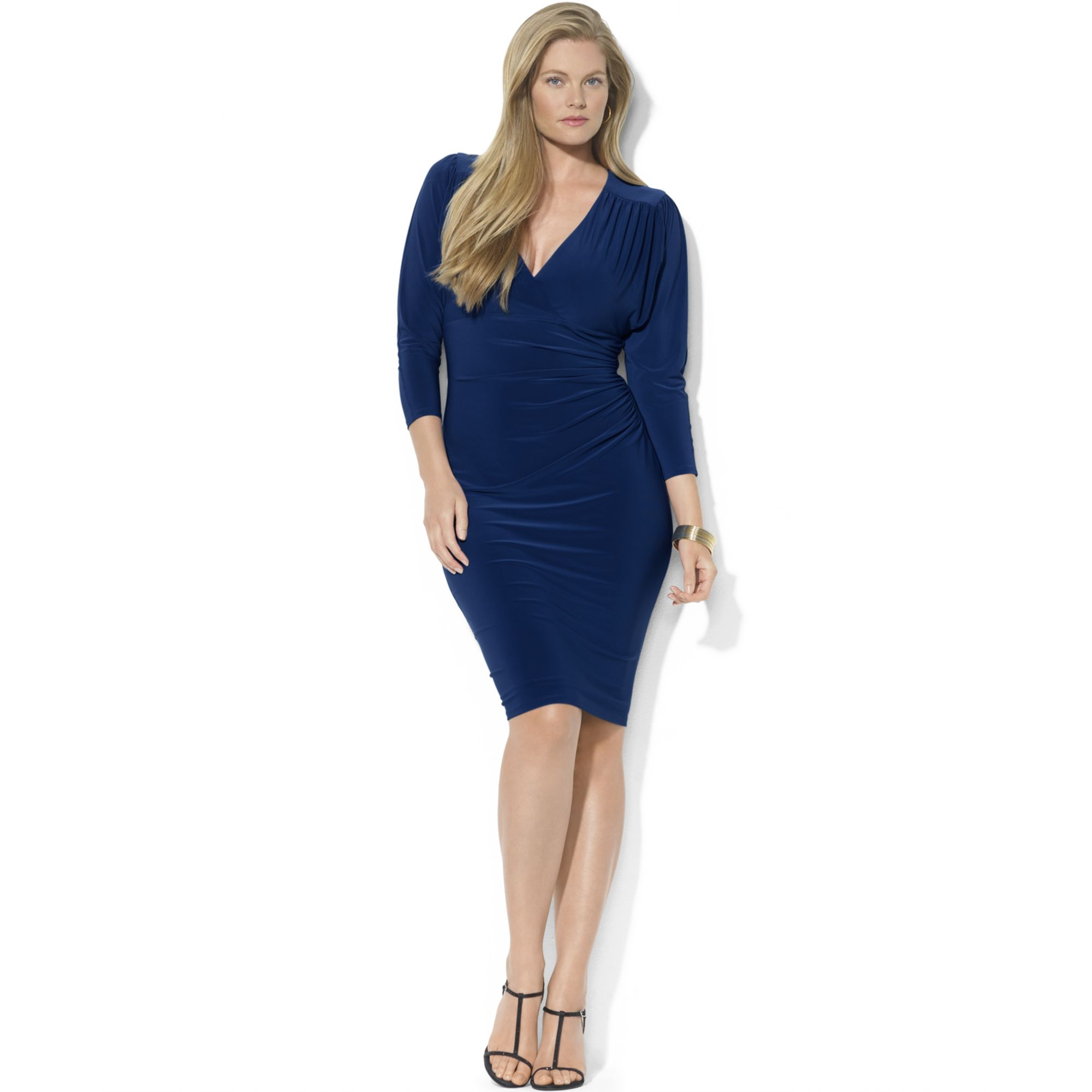 Plus Size Team Jersey Dresses