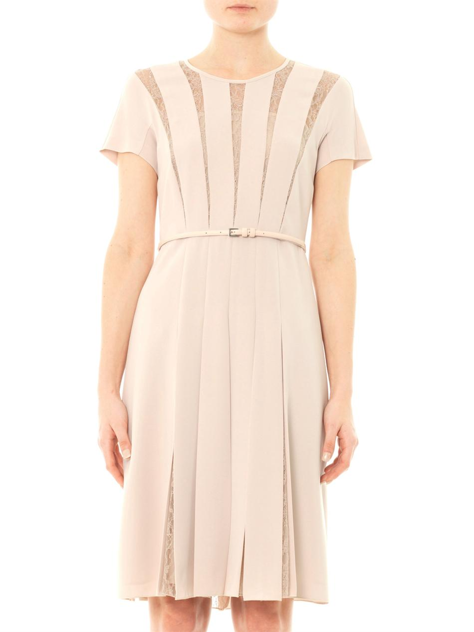 Max Mara Studio Filmato Dress In Natural Lyst