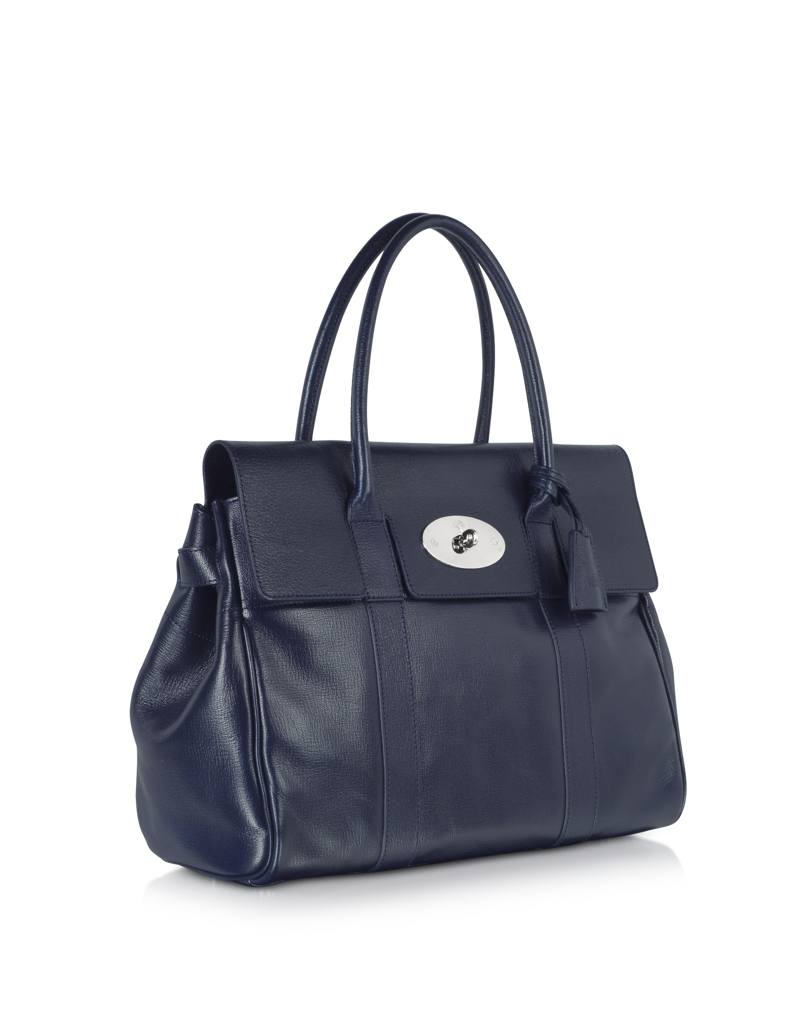 ... ireland lyst mulberry midnight blue shiny goat bayswater tote in blue  23469 67b8e 9af18864d257d