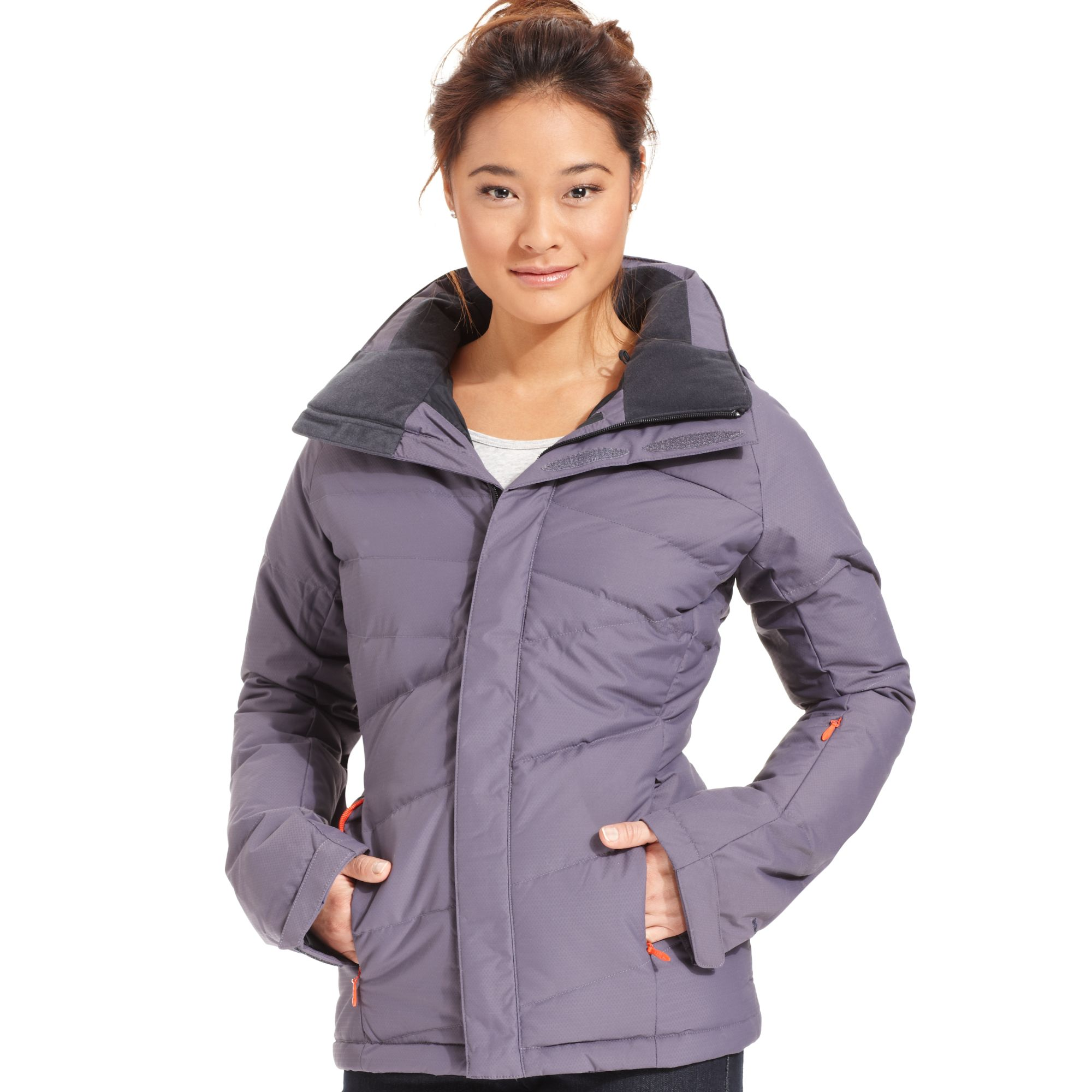 200b323bb The North Face Blue Heavenly Down Quilted Puffer Ski Jacket