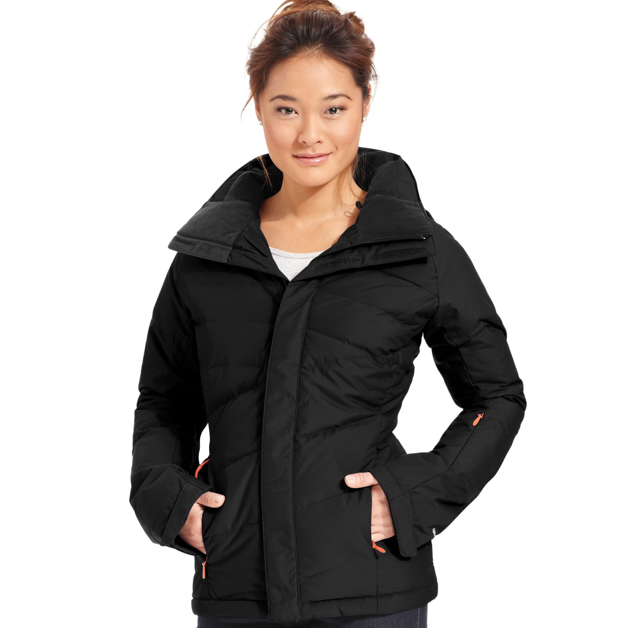 737f2fa53 The North Face Black Heavenly Down Quilted Puffer Ski Jacket
