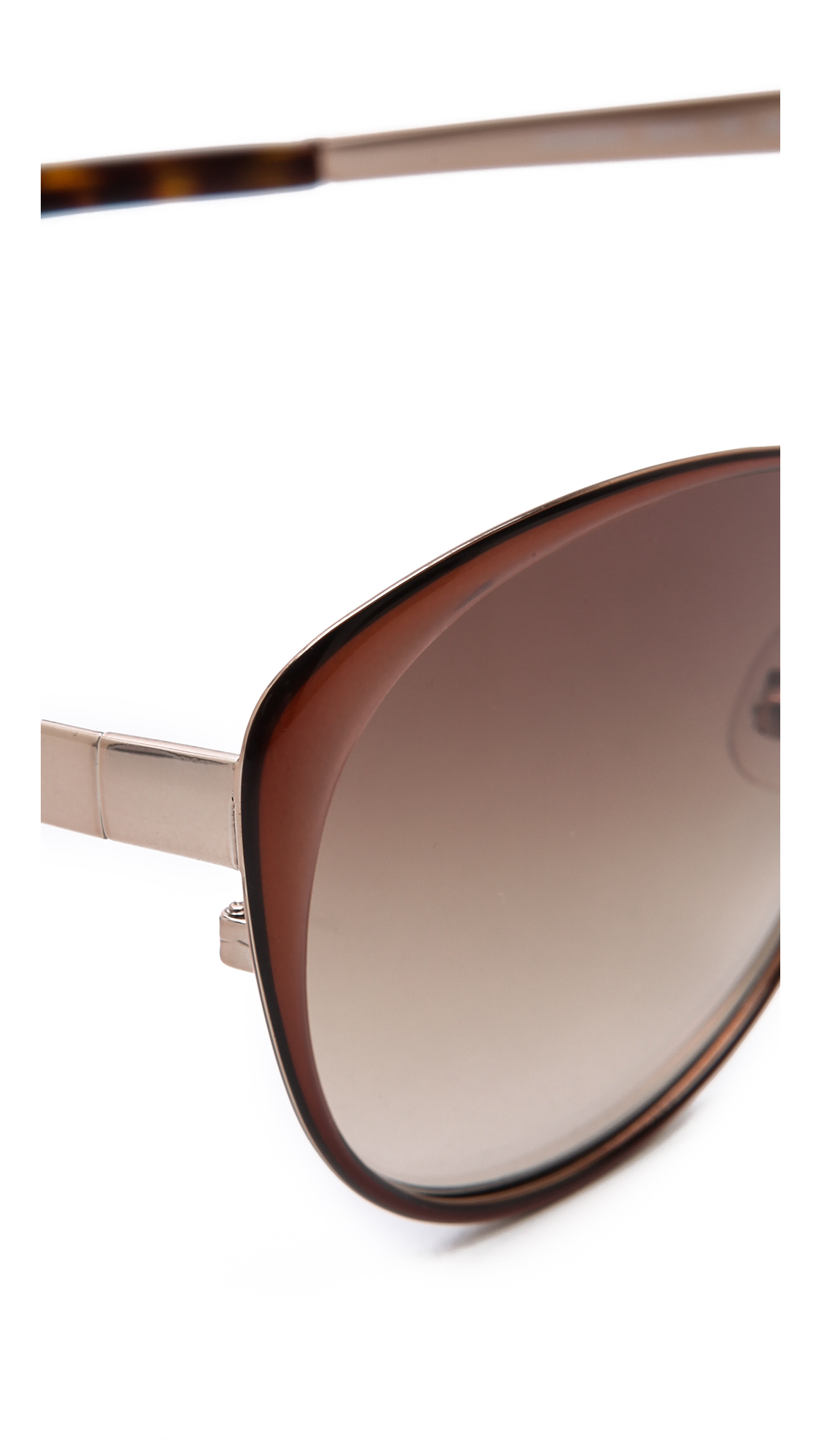Kate Spade Cassia Sunglasses - Brown/Brown Gradient