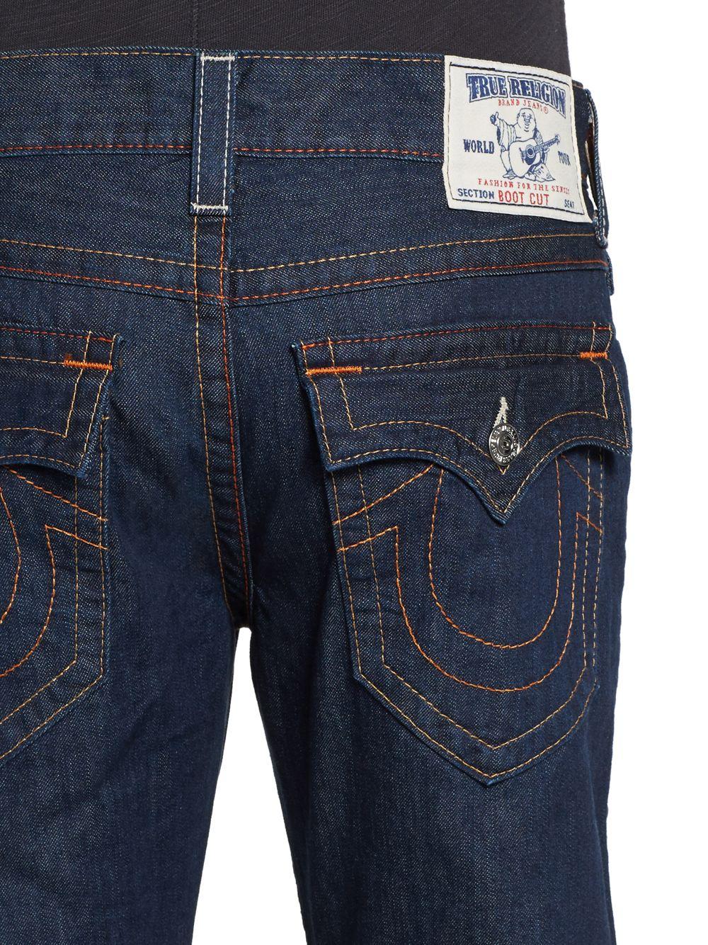 9bc8c7448 True Religion Bootcut Dark Wash Denim Jeans in Blue for Men - Lyst