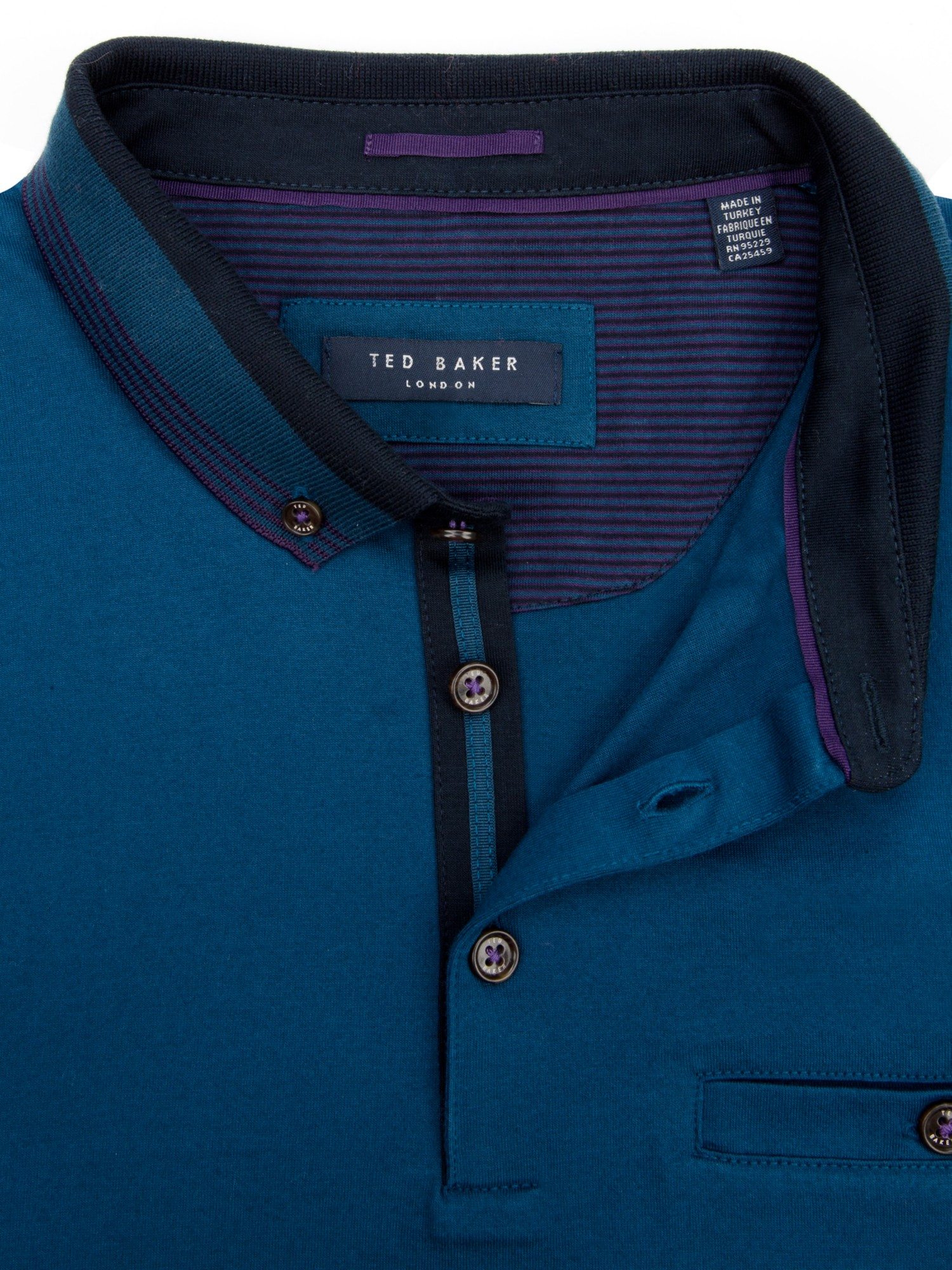 Ted Baker Daylea Polo Top in Sapphire (Blue) for Men