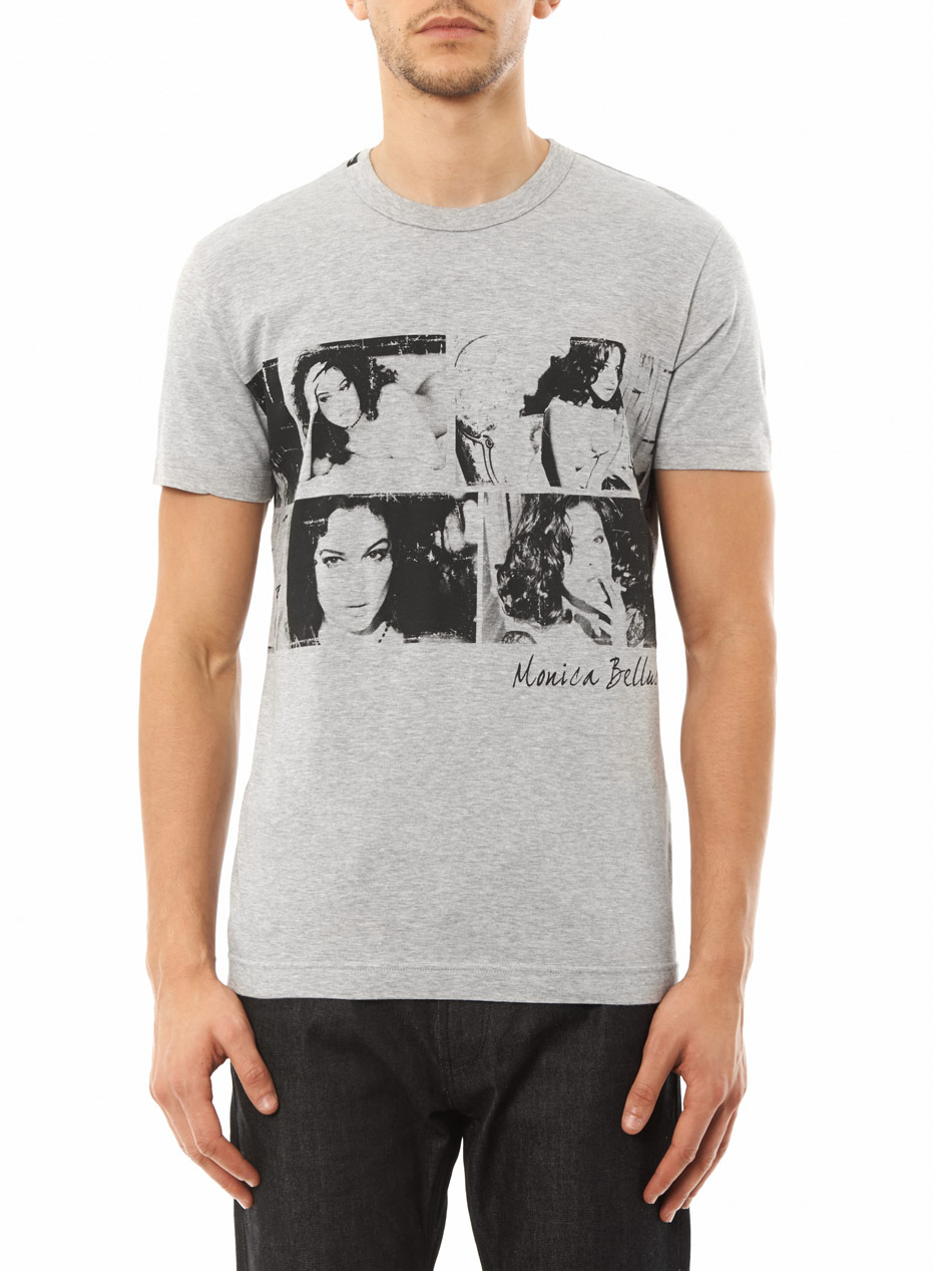 lyst dolce gabbana monica bellucci print t shirt in. Black Bedroom Furniture Sets. Home Design Ideas
