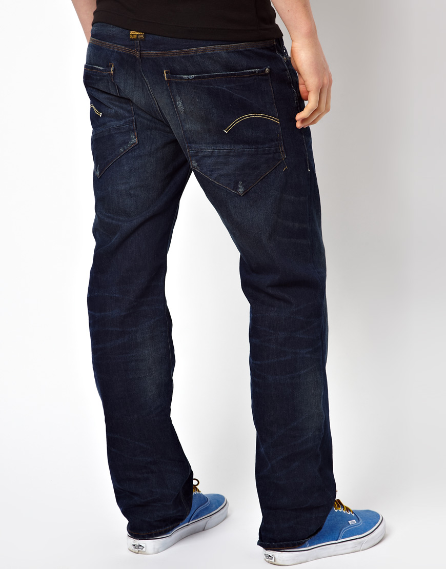 new lower prices release info on coupon codes G Star Jeans New Radar Loose Medium Aged