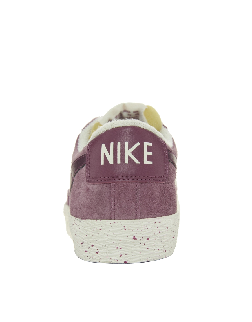 info for 83a97 6ea49 Gallery Gallery Woman Nike Blazer Low Premium White Burgundy Red Retro Shoes  N45L5917 ...